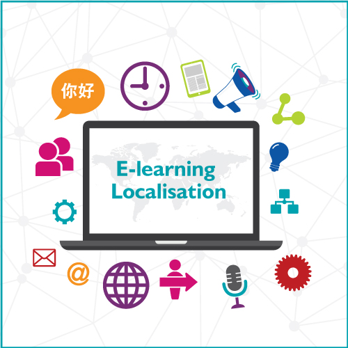 e-learning translation, e-learning localisation, translating e-learning