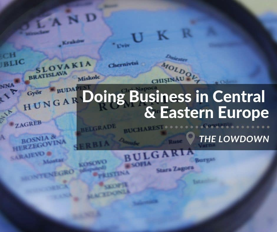 doing business, central and eastern Europe