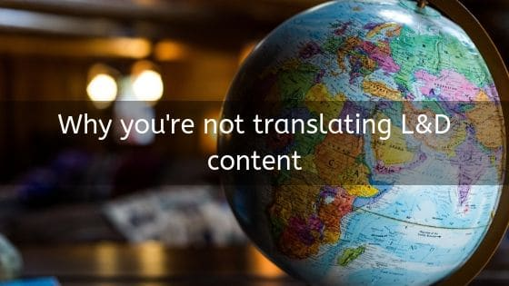 translating learning and development content